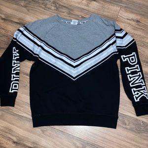 PINK Victoria's Secret Campus Crew Neck Sweater